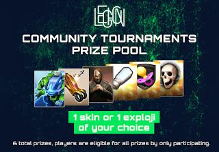 1 Prizes 1 1 6 Nehmt am zweiten September Community Turnier von LEGION teil